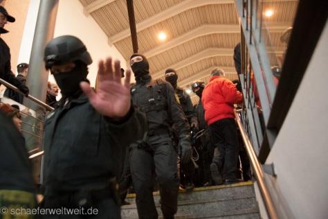 Beispiel an einem SEK Einsatz im Marz 2012 in Stuttgart