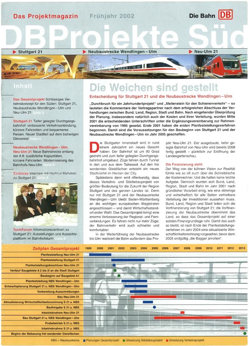 DB Projekte Süd 2002