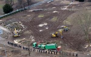 Zerstörungen durch S21 im Mittleren Schlossgarten