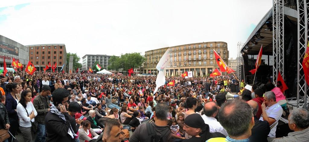 © Tuennes Schäl - Demo Köln 22.06.13