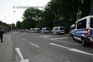 Archivbild - Straße am Schlossgarten 20.06.2011