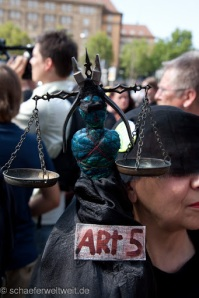 Archivbild - Demo Pressefreiheit 19.08.2011